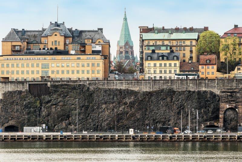 Sofia Church in Stockholm, Zweden royalty-vrije stock fotografie