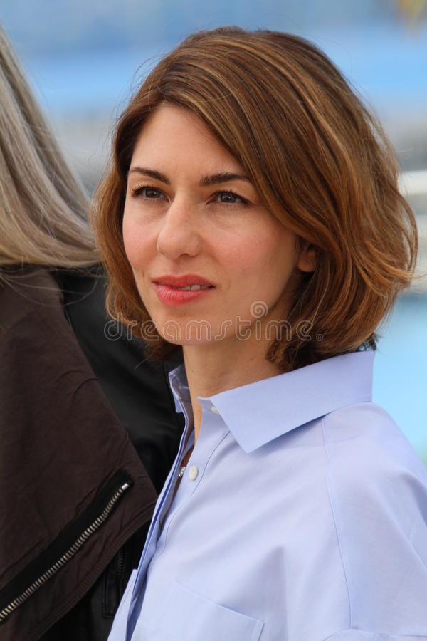 Sofia Coppola royalty-vrije stock foto's