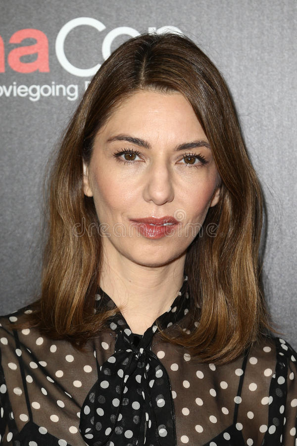 Sofia Coppola. LAS VEGAS-MAR 29: Director Sofia Coppola attends the Focus Features presentation at Caesars Palace during CinemaCon on March 29, 2017 in Las Vegas royalty free stock photos