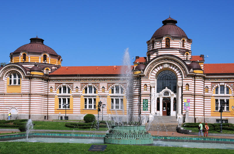 Sofia History Museum royalty free stock image