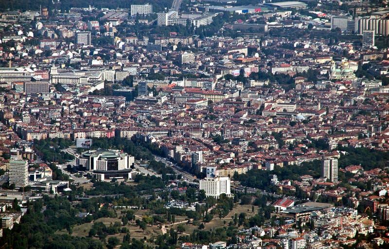 Sofia, hoofdstad van Bulgarije royalty-vrije stock foto's