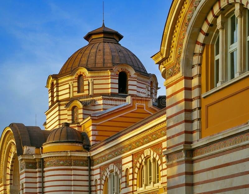 Sofia Public Mineral Baths, Sófia foto de stock