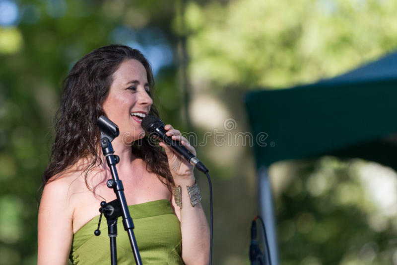 Sofia Riberio bei SummerStage in NYC's-Central Park 2017 lizenzfreie stockbilder