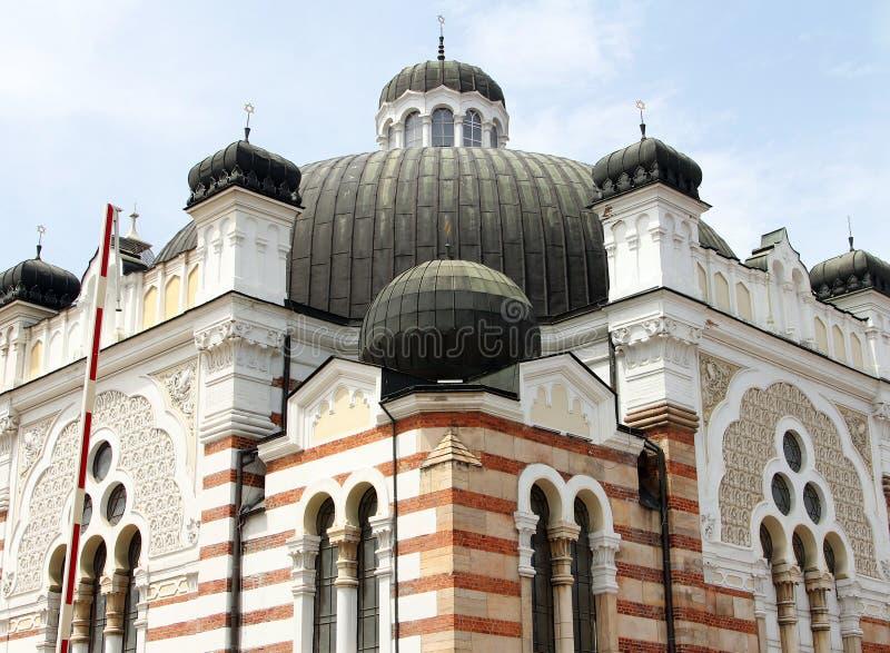 Sofia synagogue, Bulgaria royalty free stock images