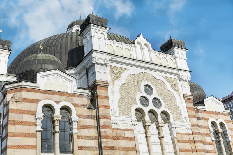 Sofia Synagogue- Bulgaria. The Sofia Synagogue - largest synagogue in Southeastern Europe , Bulgaria royalty free stock image
