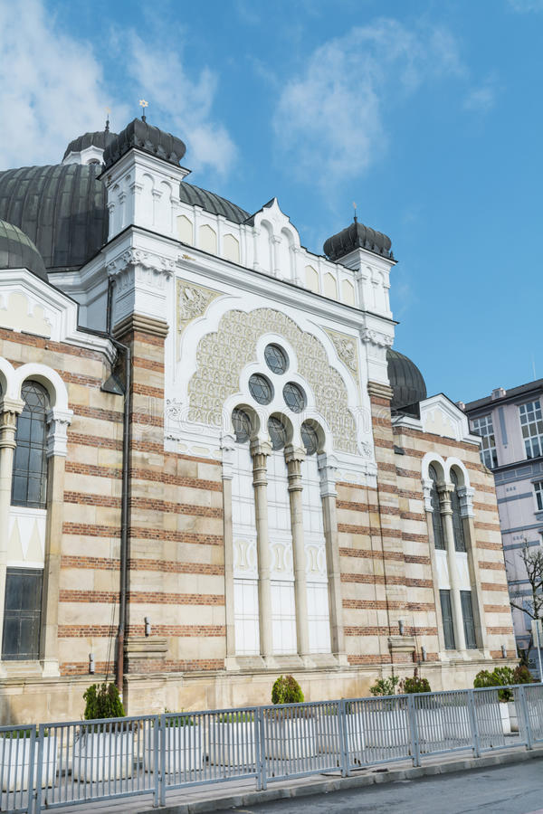 Sofia Synagogue- Bulgaria. The Sofia Synagogue - largest synagogue in Southeastern Europe , Bulgaria stock photography