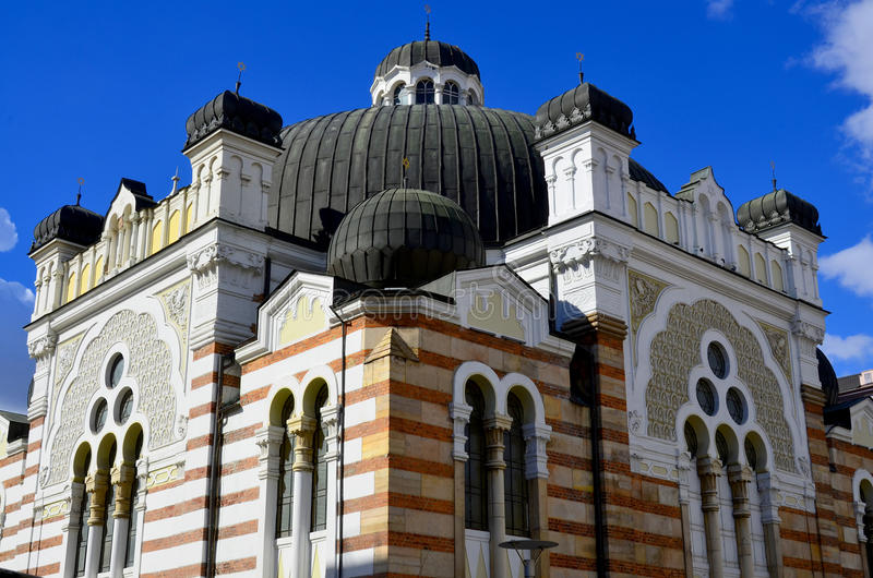 The Sofia Synagogue. SOFIA BULGARIA SEPTEMBER 28 The Sofia Synagogue is the largest synagogue in Southeastern Europe, one of two functioning in Bulgaria on stock photo