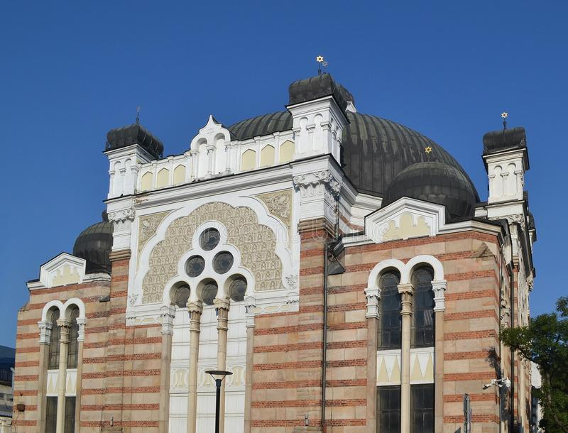 Sofia Synagogue Bulgaria is the third-largest in Europe stock photography