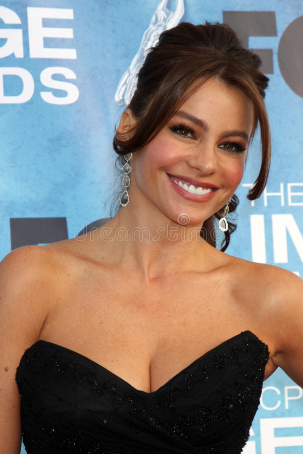 Sofia Vergara royalty free stock image
