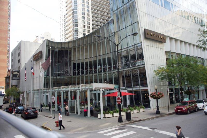 Sofitel Frans Art Hotel, Chicago Illinois royalty-vrije stock fotografie