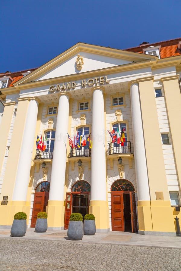 Sofitel Grand Hotel In Sopot, Poland Editorial Stock Image