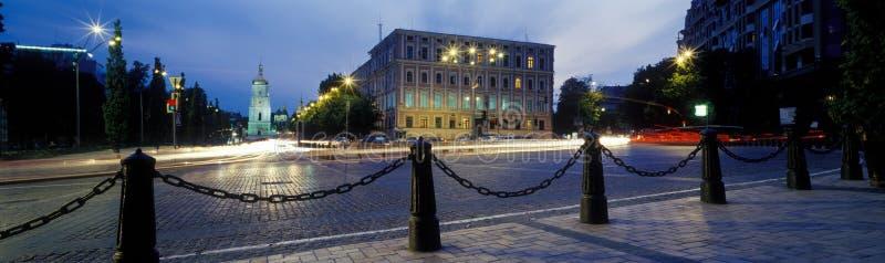 Sofiya panorama arkivfoton