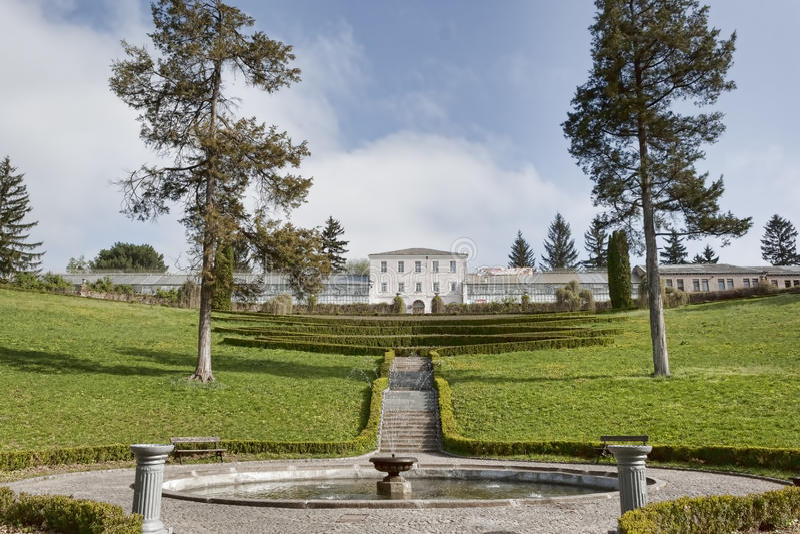 Sofiyivskypark in Uman, de Oekraïne royalty-vrije stock afbeeldingen