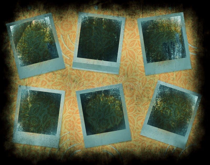 Sofortige Fotofelder Lizenzfreie Stockbilder
