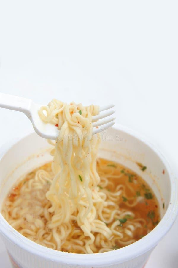 Sofortige Nahrung lizenzfreie stockfotografie
