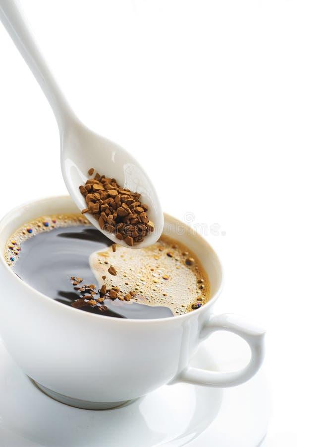 Sofortiger Kaffee stockfotos