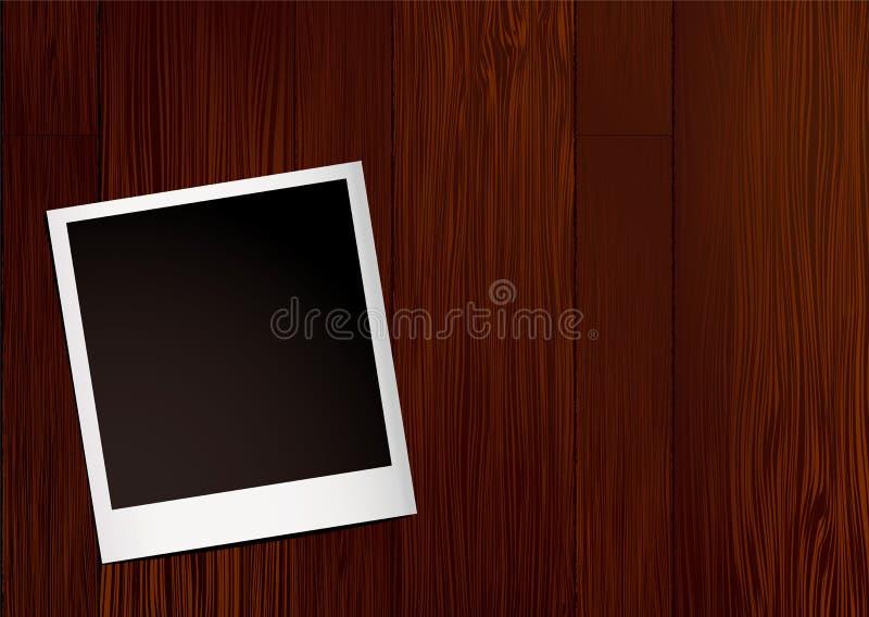 Download Sofortiges Fotoholz vektor abbildung. Illustration von befleckt - 12203501