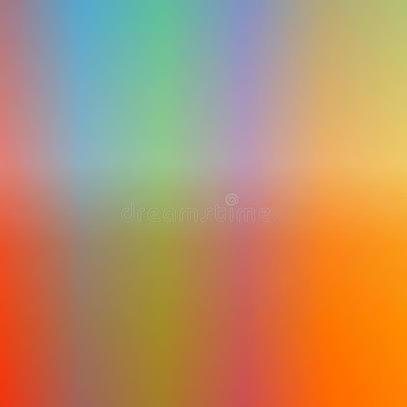 Soft Autumn color gradient background square PDK royalty free stock images