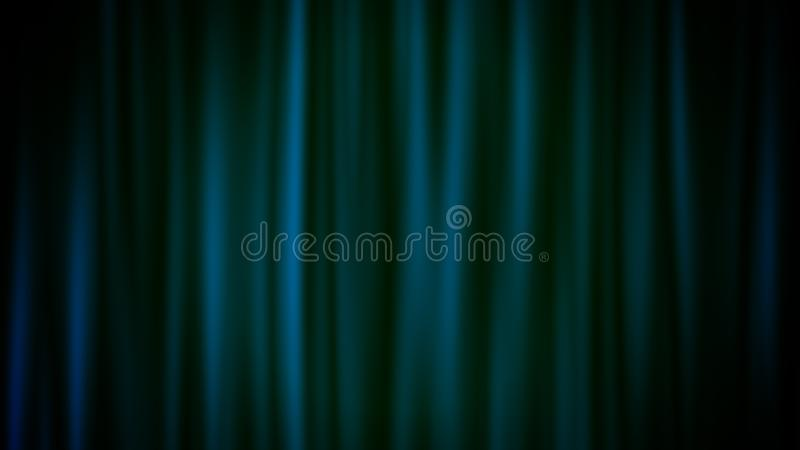 Soft Backdrop From Black and Blue Lines royalty free illustration