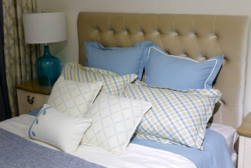 Soft bed, dobe rgb stock photos