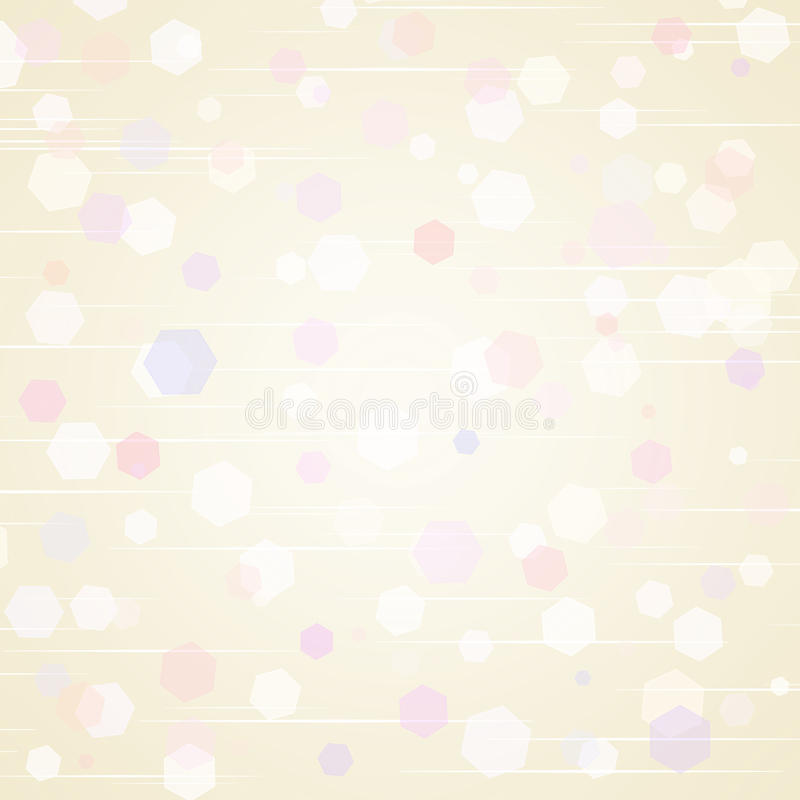 Soft, beige background royalty free illustration