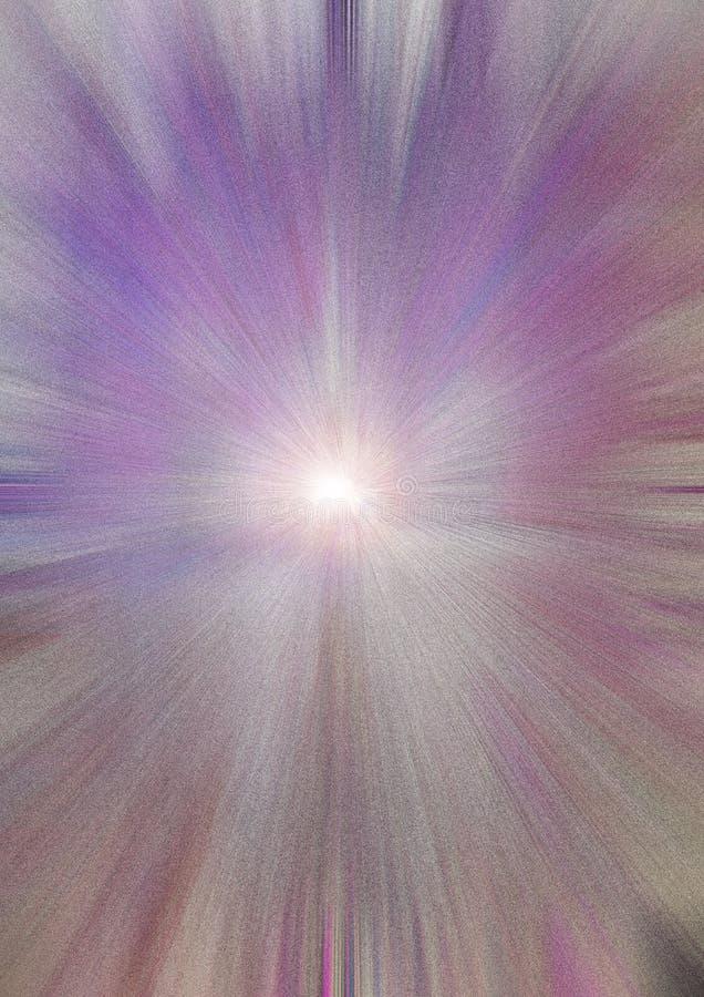 Soft bliss explosion stock illustration