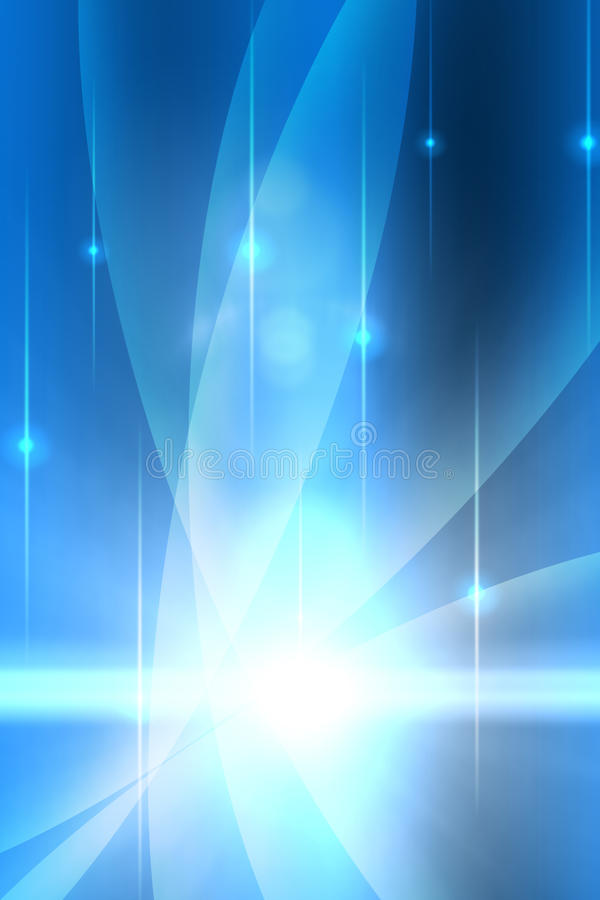 Soft blue background stock illustration
