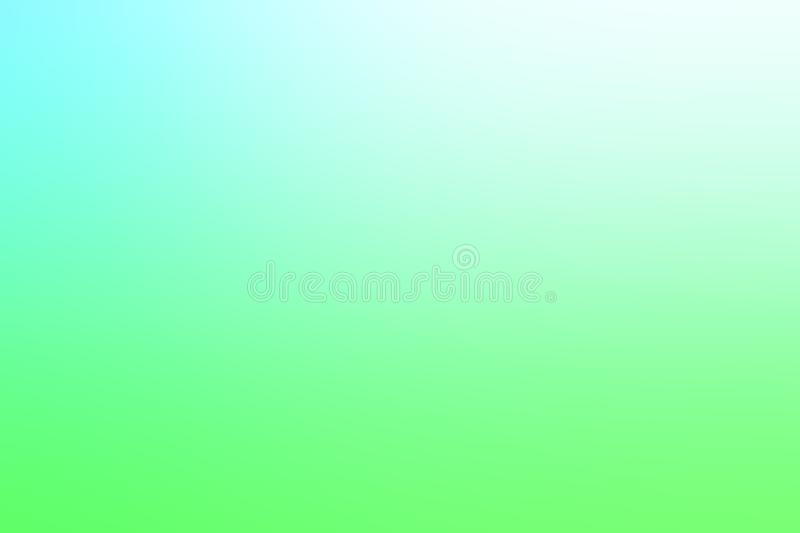 blue and light green gradient background stock photo