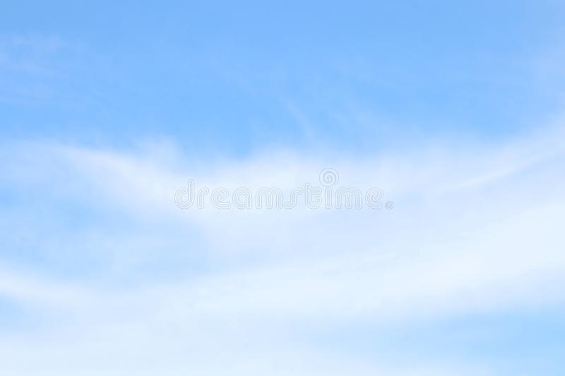 Soft Blue Sky Clear, Beautiful blue white sky fluffy clouds royalty free stock photography