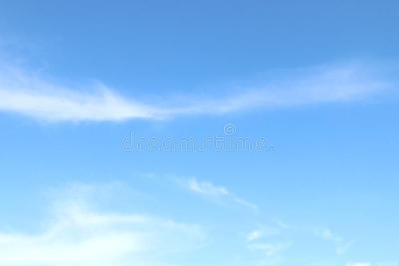 Soft Blue Sky Clear, Beautiful blue white sky fluffy clouds royalty free stock images