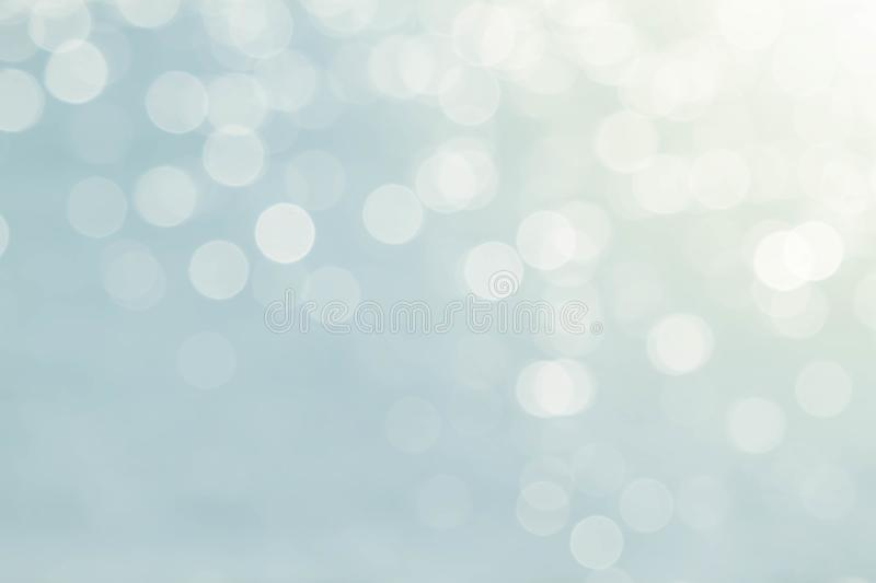 Soft blurred sweet blue bokeh nature abstract background. Soft blurred sweet blue glitter bokeh nature abstract background stock photography