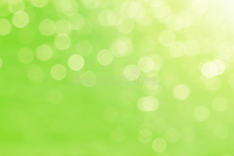 Soft blurred sweet green bokeh nature abstract background royalty free stock photos