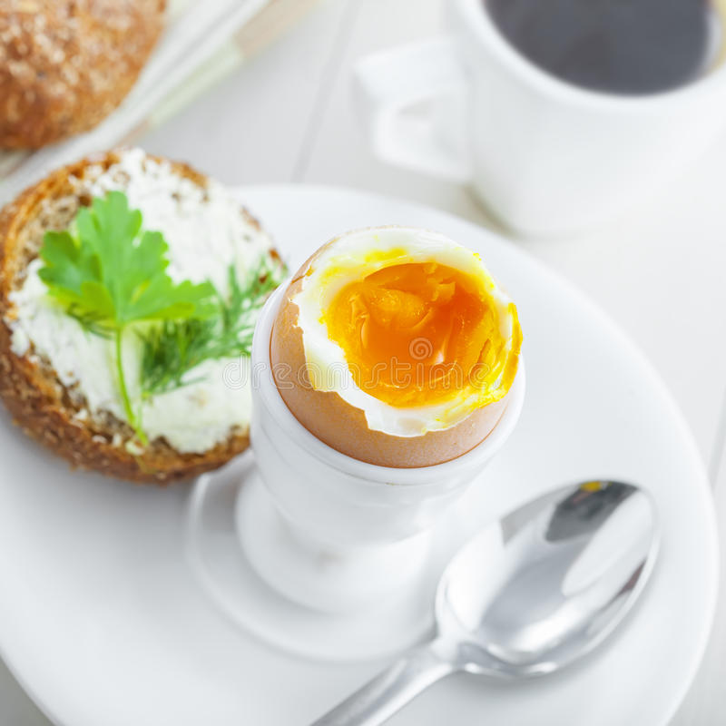 Download Soft Boiled Egg Breakfast Stock Photo Image Of Meal
