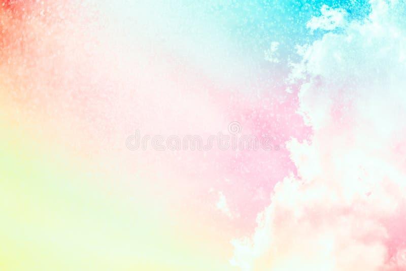 Soft cloud background color. stock image