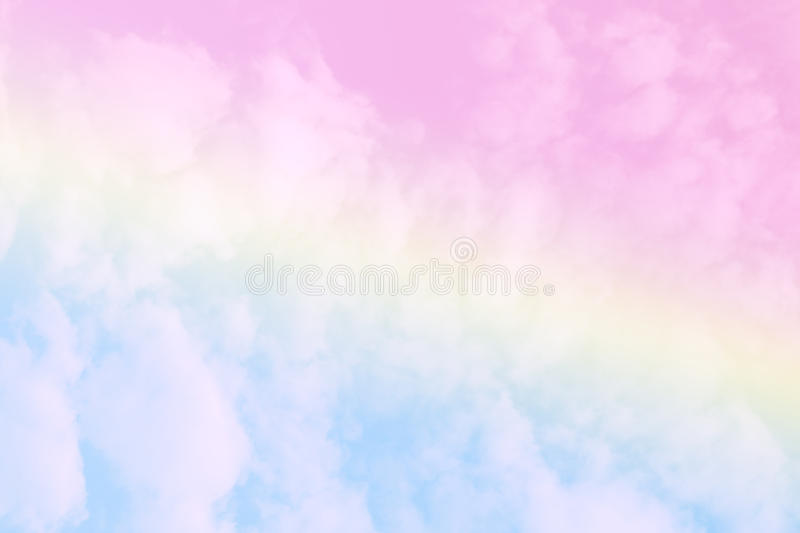 Soft cloud sky abstract pastel colorful background royalty free stock photo