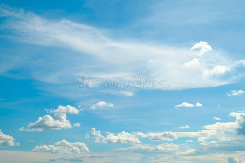 Soft cloud and sky for background. Backdrop stock images