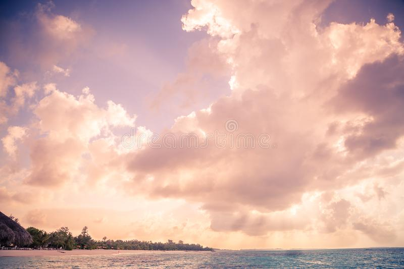 Soft clouds with sunlight stock photos