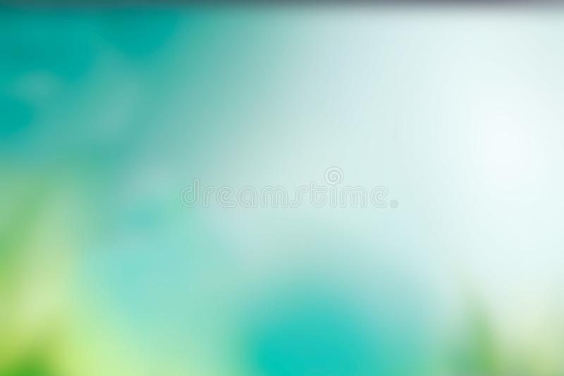 Soft cloudy is gradient pastel,Abstract spring background in sweet color vector illustration