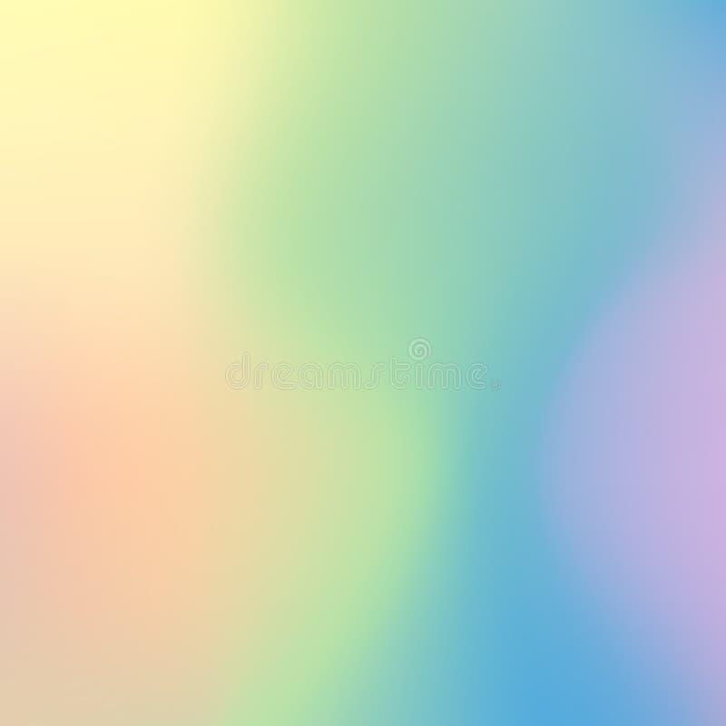 Download Soft Color Gradient Background Stock Vector