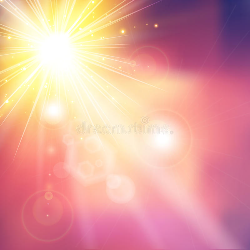 Soft colored abstract light background. Vector illustration royalty free illustration