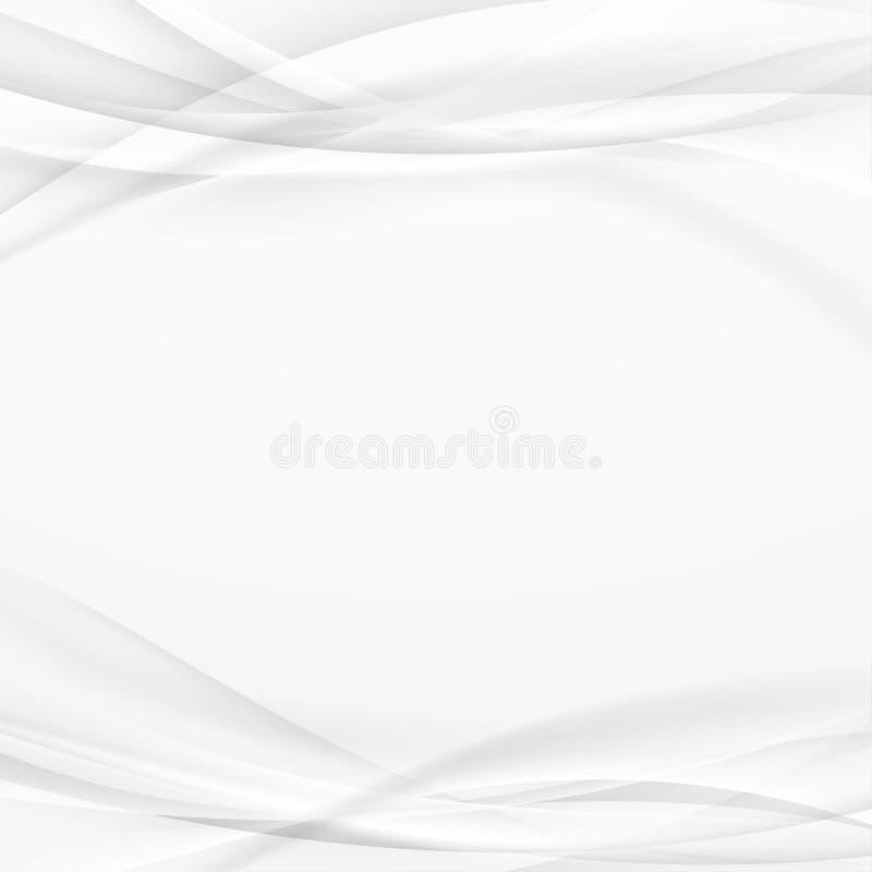 Soft diffusive halftone light and dark shadow background. Smooth. Futuristic swoosh abstract modern grey border elegant line brochure template. Vector vector illustration