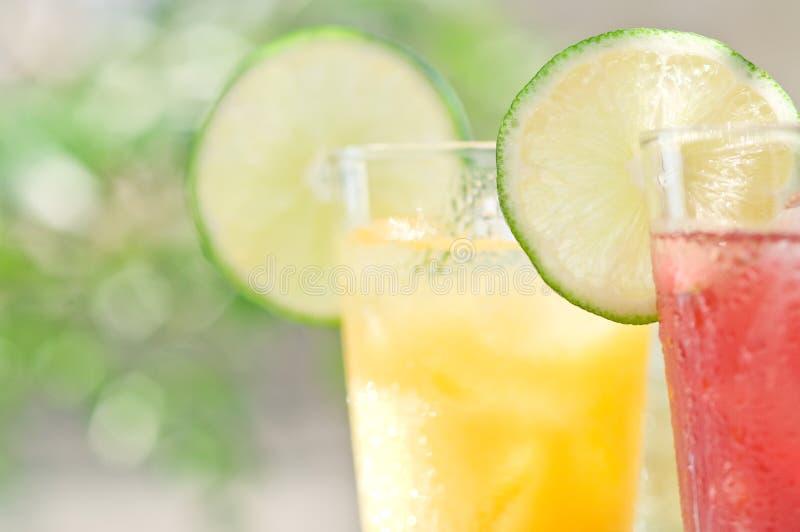 Soft drinks royalty free stock photos