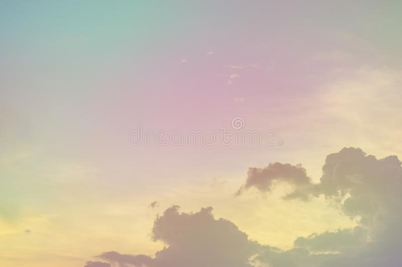 Soft focus, abstract texture pattern colorful sky and clouds naturally, bright colors with gradients of beautiful pastel shades.  stock photos