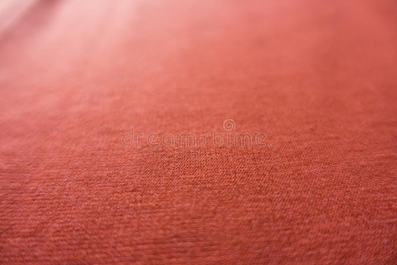 Soft Focus Coral Colored Jersey Fabric Stock Image - Image of ...