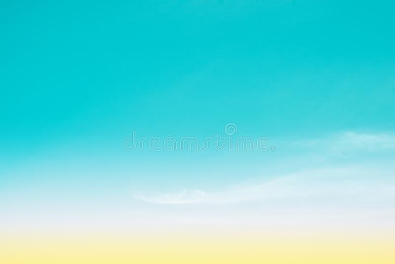 Sky pastel stock photography