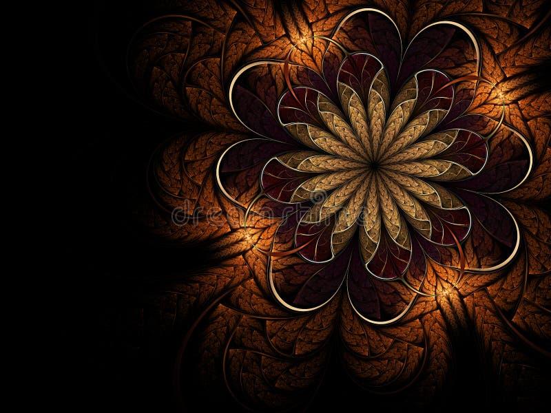 Download Soft fractal flower stock illustration. Image of illustration - 17322103