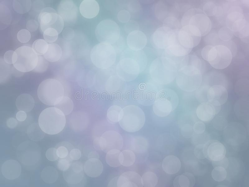 Soft glowing blue mauve purple white modern abstract bokeh web background illustration. vector illustration