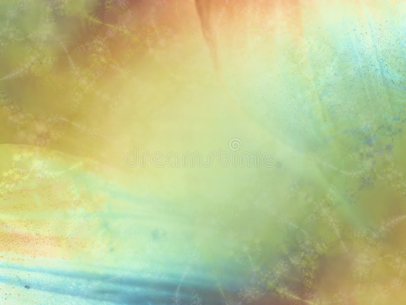 Soft Gold Green Blue Texture royalty free illustration