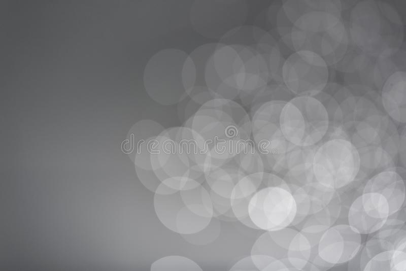 Soft gray bokeh background, Take pictures with digital camera. Customize colors with photoshop royalty free stock image