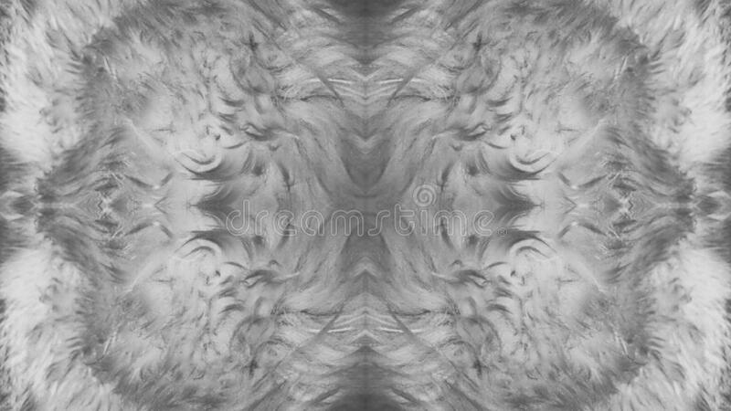 Soft Grey Artistic Shades & Blurs Background Abstract stock illustration